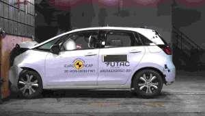 Yeni Honda Jazz Hibrit Euro NCap Testi